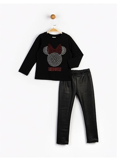 Minnie Mouse  Çocuk Takım 16175 Siyah